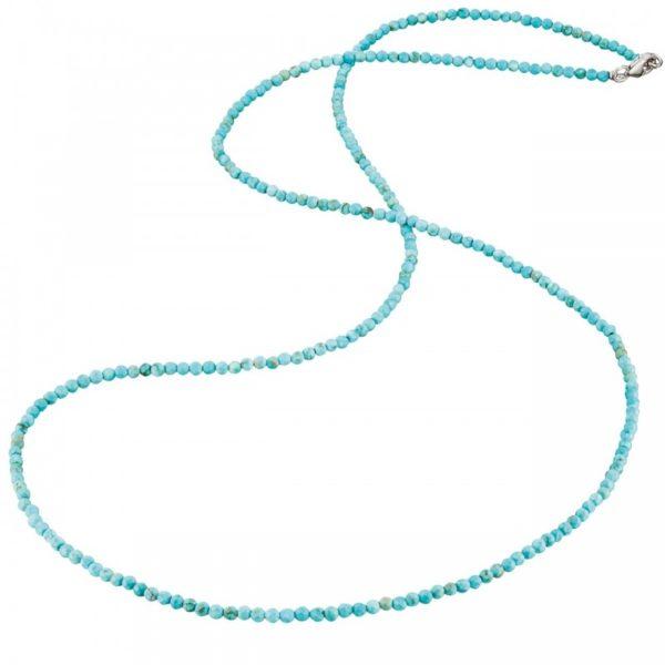 Collar gemas turquesa howlita