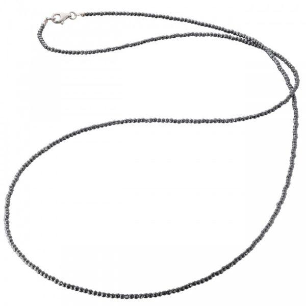 Collar gemas hematite
