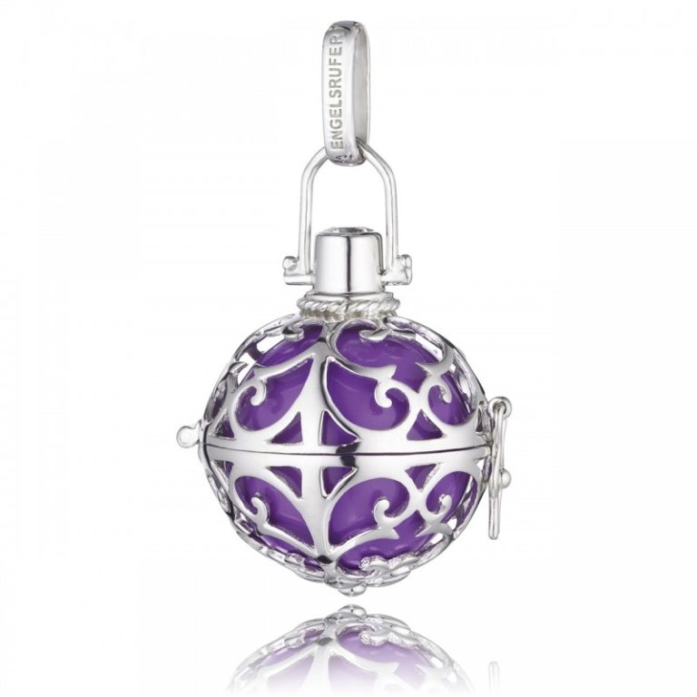 Llamador Plata - Púrpura
